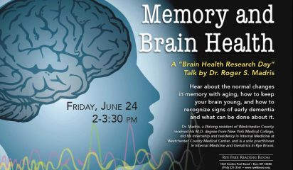 Memory and Your Healthy Brain with Dr. Roger Madris