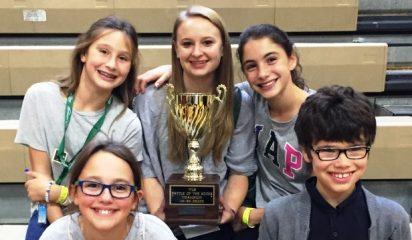 Congratulations to Rye Rockets – winners of the Battle of the Books!