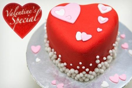 Rye free reading room blog archive valentine mini cake - Valentines day cake designs ...