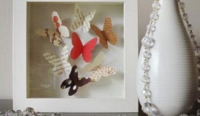 Shadow Box Butterflies